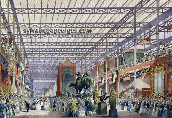 crystal palace, londres, 1851