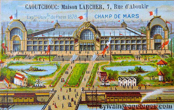 1878 exposition universelle chromo
