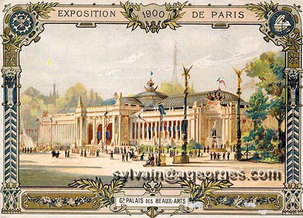 Les expositions universelles de paris de 1855 1937 - Exposition paris grand palais ...