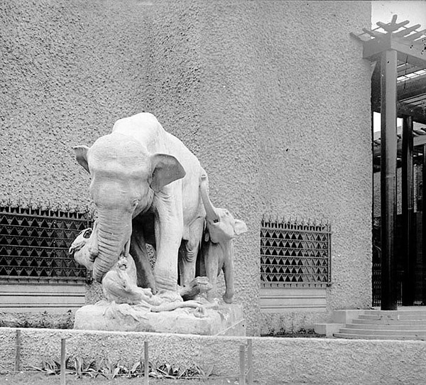 elephant exposition coloniale 1931