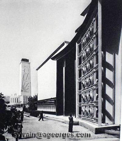 Subes pavillon metal  exposition 1937